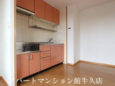 【キッチン】レジデンスさくら台C