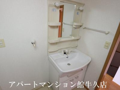 【洗面所】レジデンスさくら台C