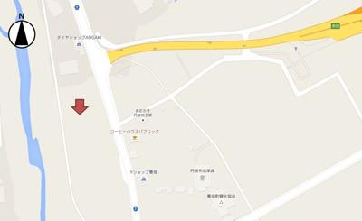 【地図】西芦田売地1404万円