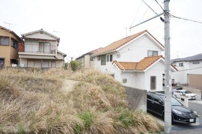 【前面道路含む現地写真】神戸市西区白水1丁目 売土地
