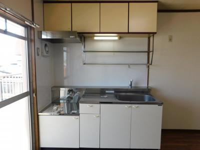 【キッチン】ハイツビアン