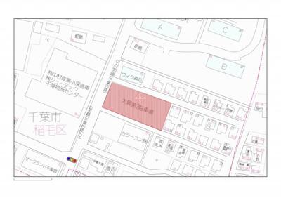 【地図】大興小深第2駐車場