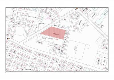 【地図】大興小深第1駐車場