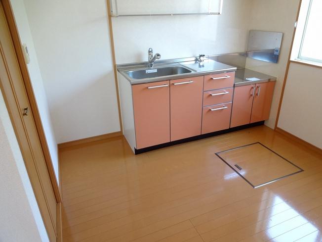 【キッチン】アンブラッセⅡ