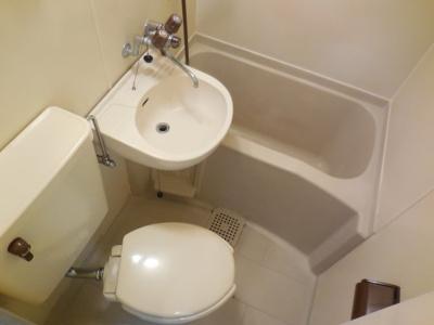 【浴室】ベルズコート会下山