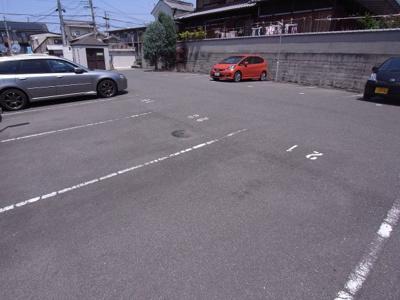 【駐車場】みょうが荘