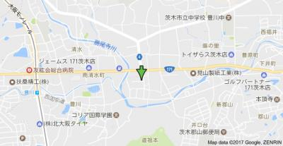 【地図】ピュアハウス