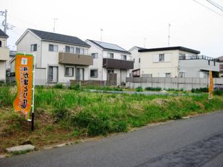 千葉市緑区高田町 土地 前面6m公道で車のすれ違いも安心の広さ♪