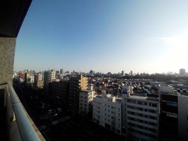 【エコロジー白山レジデンス】14階からの眺望です。
