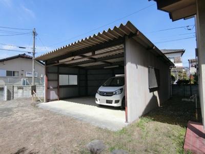 【駐車場】南アルプス市飯野5DK戸建