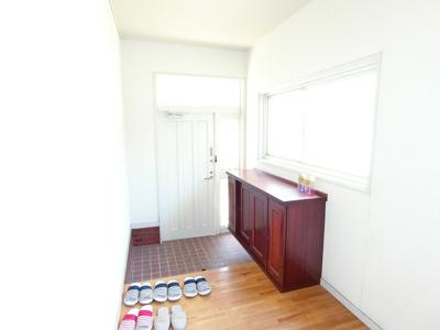 【玄関】南アルプス市飯野5DK戸建