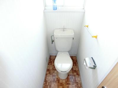 【トイレ】南アルプス市飯野5DK戸建