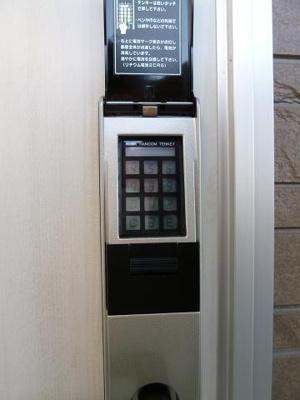 部屋 テンキーデジタルロック錠 お好きな番号を設定