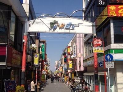 北口駅前すきっぷ通り商店街