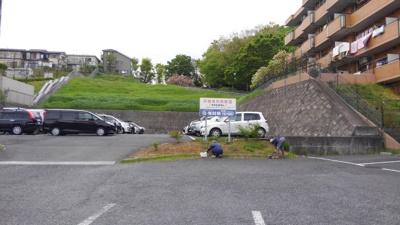マンションの隣に大型駐車場がございます(要確認。別途契約)