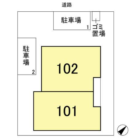 【区画図】ボナールヒル