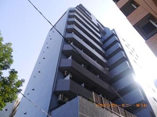 SRC造のしっかりした都会的な外観です。
