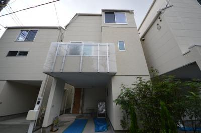 【外観】白彩美-はくさいび-  新築一戸建て全4棟