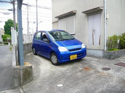 【駐車場】ハイム松本