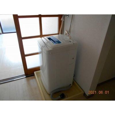 ラ・ファイエット本郷の室内洗濯機置き場