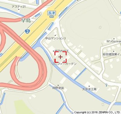 【地図】コニファーガーデン3