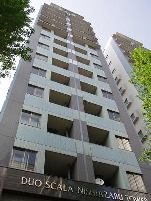 【外観】デュオ・スカーラー西麻布タワー 2階部分