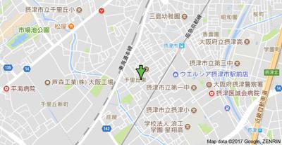 【地図】グランデ紫陽花