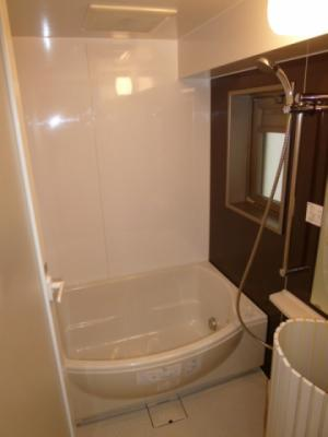 【浴室】セントラルハイツ栄
