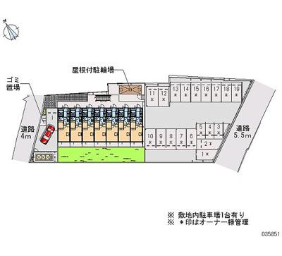 【区画図】シエスタ