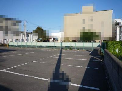 【外観】黒石市市ノ町市役所隣駐車場