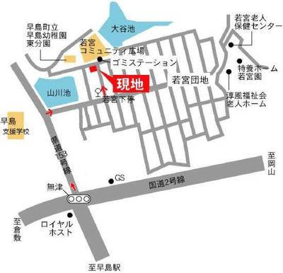 【地図】フォーレストヴェー