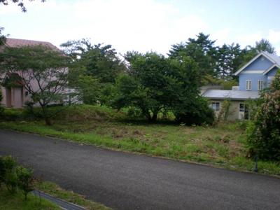 【前面道路含む現地写真】伯耆町小林 売り土地