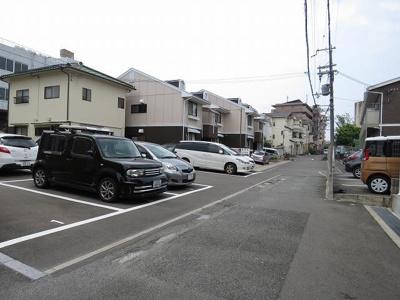 【駐車場】池田ハイツ