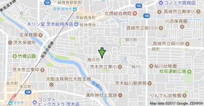 【地図】池田ハイツ