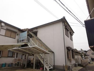 阪口ハイツ 2階建てのアパートです