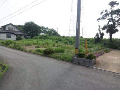 【外観】大山町西坪 売り土地