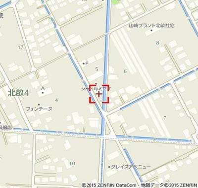 【地図】シャトルミヤケE