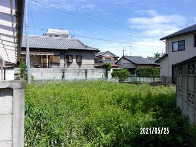 【外観】深谷市上野台 400万 土地
