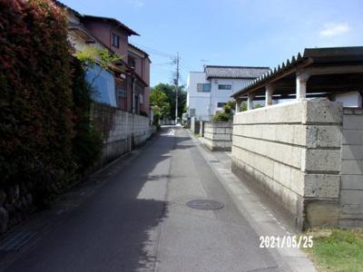 【前面道路含む現地写真】深谷市上野台 400万 土地
