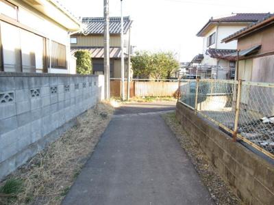 【外観】熊谷市石原 1100万 土地