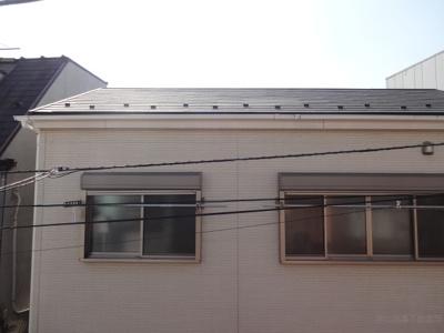関根貸家 (右) 2階のベランダからの眺望