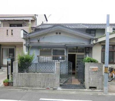 【外観】五条通 借家