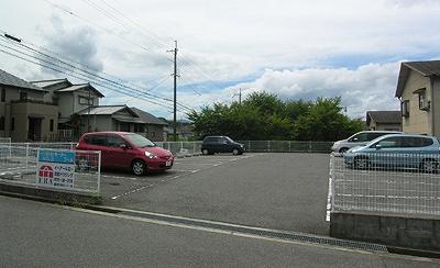 【駐車場】メゾン津々山台No.5モータープール