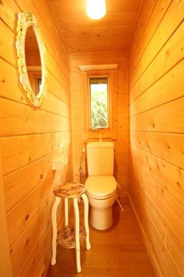 【トイレ】西竹之丸戸建スウェーデン式ログハウス
