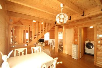 【その他】西竹之丸戸建スウェーデン式ログハウス