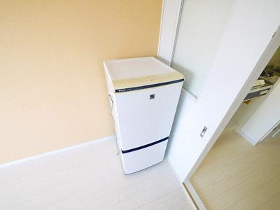 冷蔵庫つきです