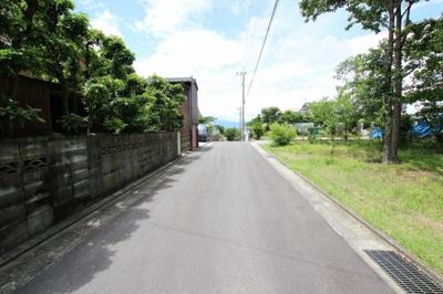 【前面道路含む現地写真】久留米市荒木町藤田戸建て