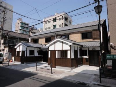 西田辺長屋 駐車場1台可 ファミリータイプ
