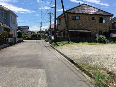 【前面道路含む現地写真】西ノ台28番