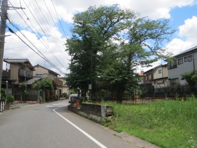 【前面道路含む現地写真】流山売地